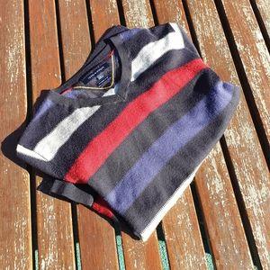 Tommy Hilfiger Pure Wool Striped jumper Sz M